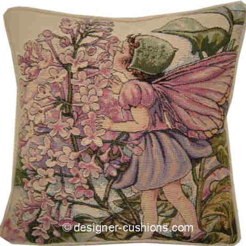 Flower Fairies Lilac Tapestry Cushion Cover