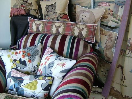 Designer Cushions Shop Window