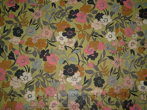 Hokkoh Covent Garden Floral Quilt Fabric Col 9