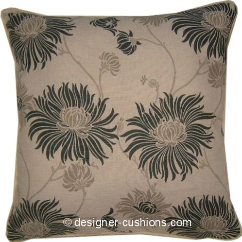 Laura Ashley Kimono Charcoal Cushion Cover