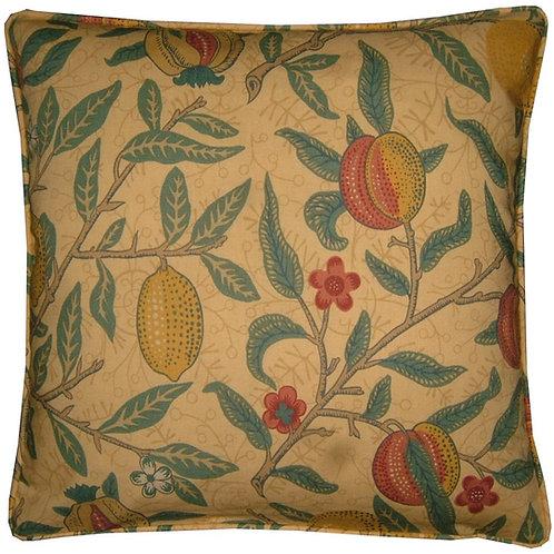 William Morris Fruit Major Gold Cushion Cover