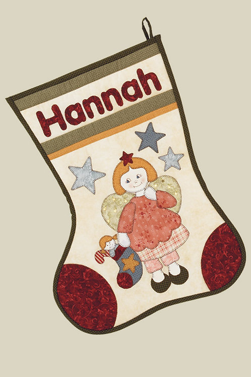 Kids Quilts 'Hannah's Stocking' Pattern