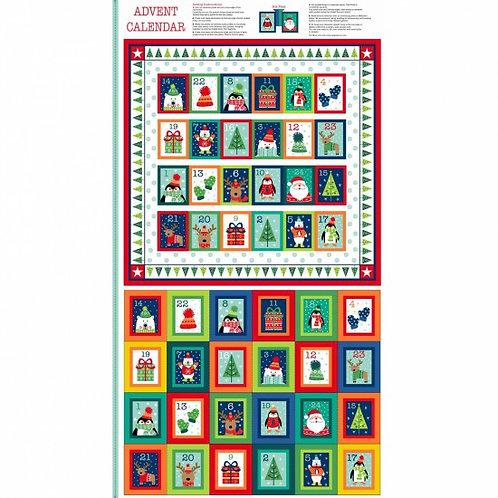 "Makower Novelty Advent Calendar 60cm / 24"" panel"