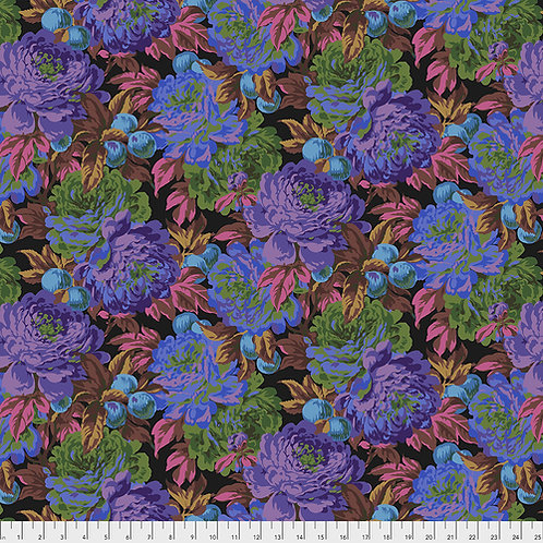 Kaffe Fassett Feb2020 - Luscious PWPJ011 BLACK Quilt Fabric