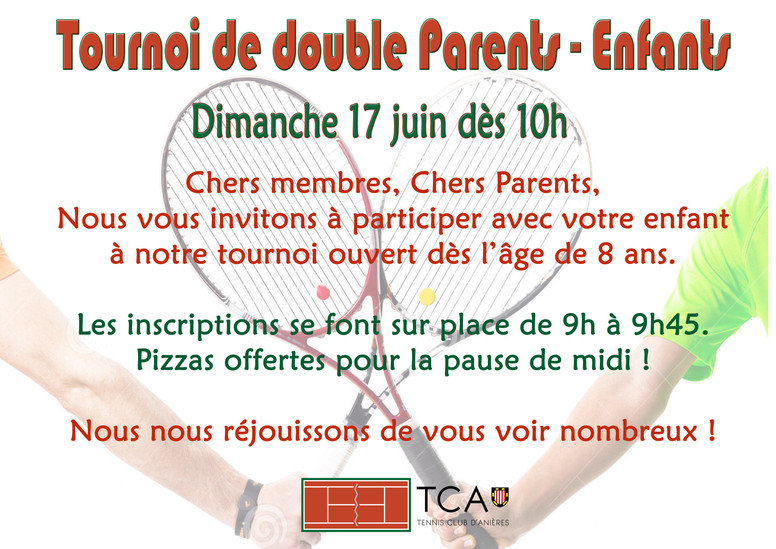 Tournoi de double Parents-Enfants