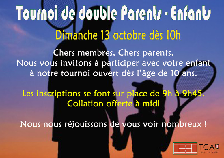 Tournoi Parents-Enfants