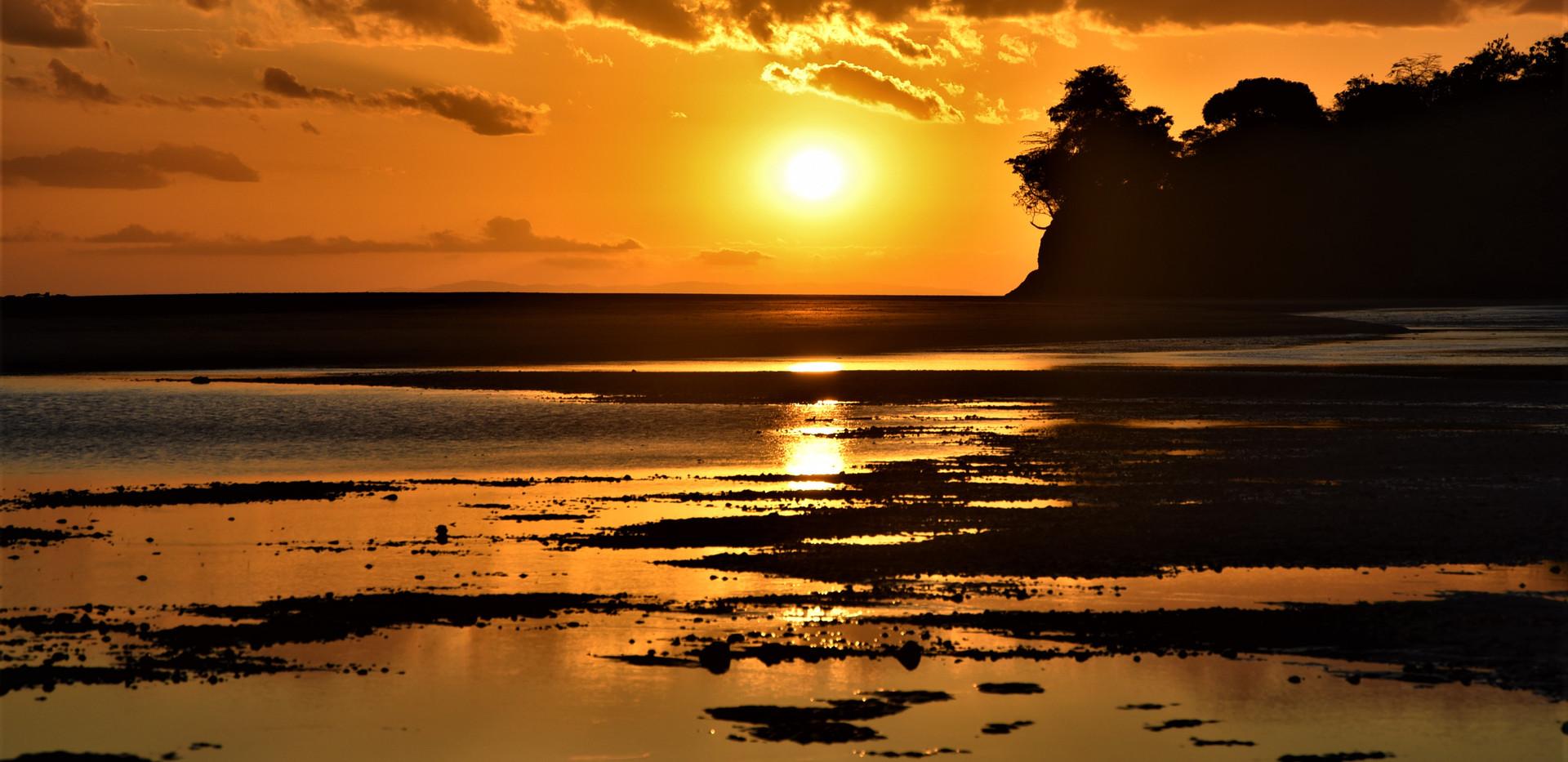 Soleil couchant Santa Catalina - Panama