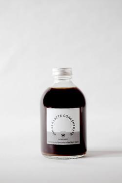 バニララテシロップ   丸ボトル