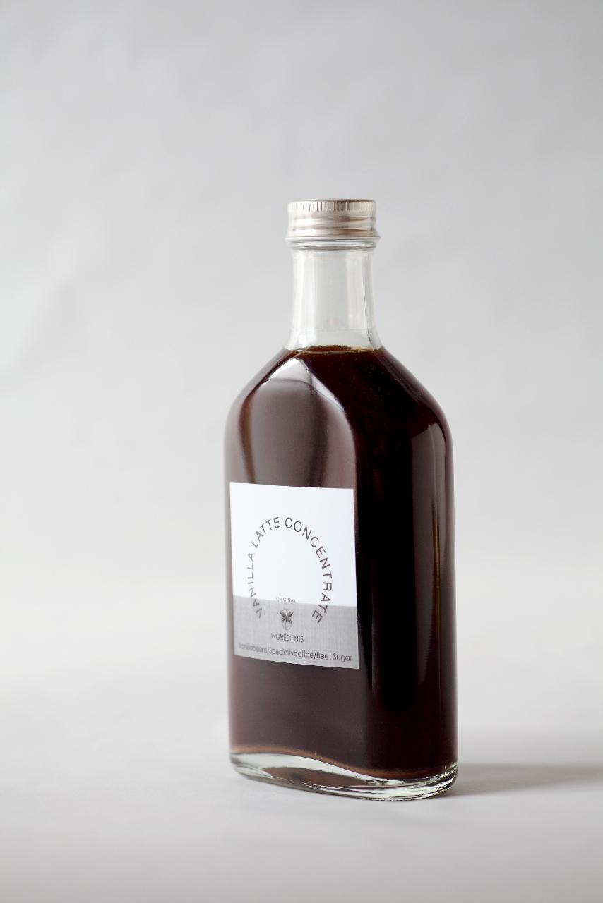 バニララテシロップ 角ボトル