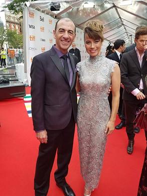With Linda Cardellini