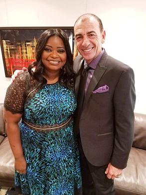 With Octavia Spencer