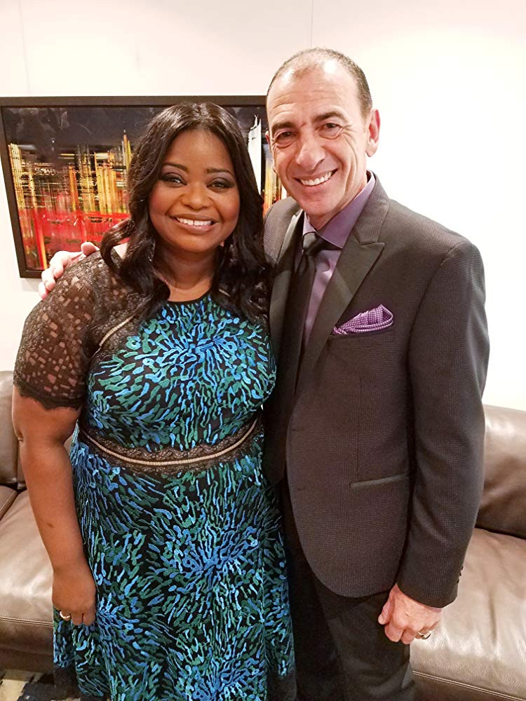 With Octavia Spencer