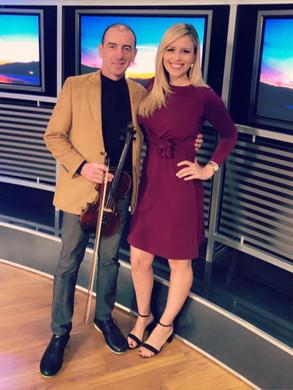 With Stella Inger Escobedo
