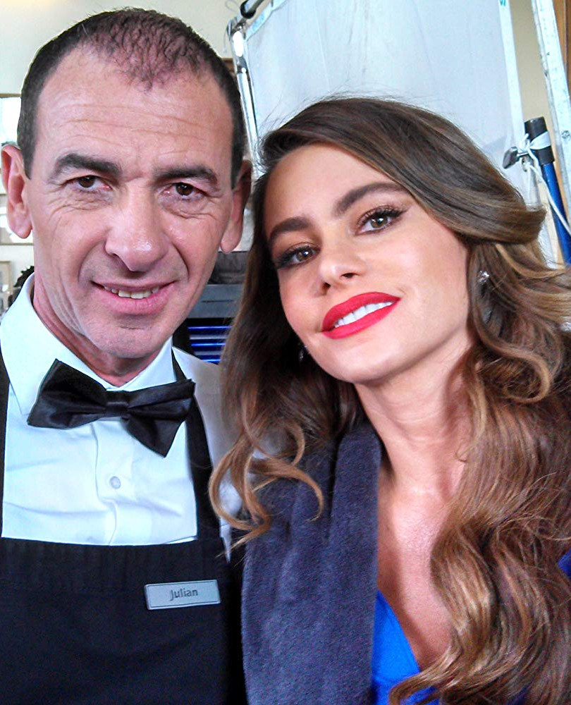 With Sofia Vergara