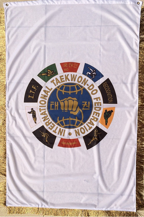 ITF Schildkröte Fahne