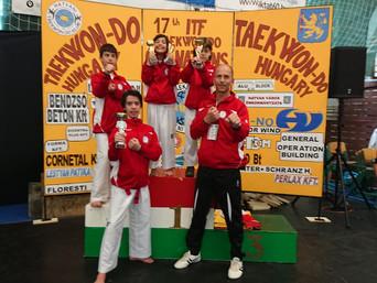 Erfolge für unsere Kinder/Jugendlichen in HATVAN Ungarn