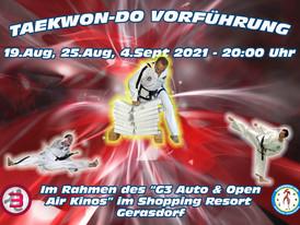 Taekwon-Do Vorführung im G3 Shopping Resort Gerasdorf