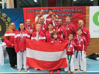 Viele Medaillen bei den Czech Open 2018