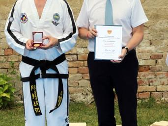 Verleihung der Sportmedaille durch die Stadtgemeinde Gerasdorf