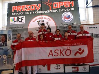 """18 Medaillen beim Turnier """"PRESOV OPEN"""" 2019 (Slowakei)"""