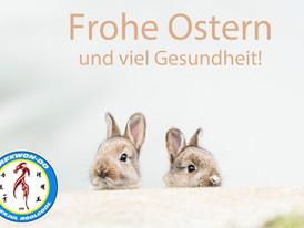 Wir wünschen euch frohe Ostern und gesunde Ostertage!