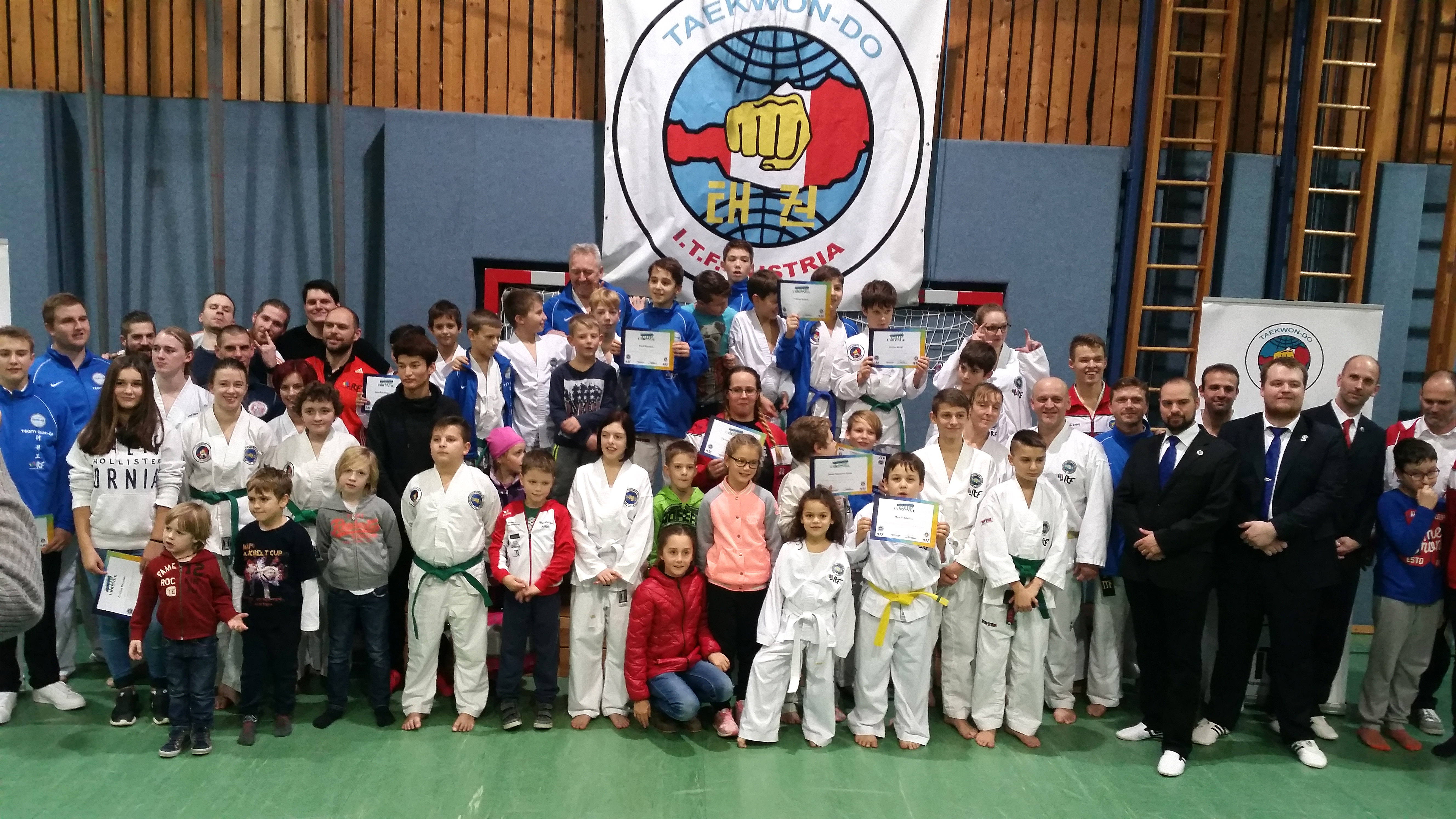 Gesamt Gruppe Sparring Cup 2016