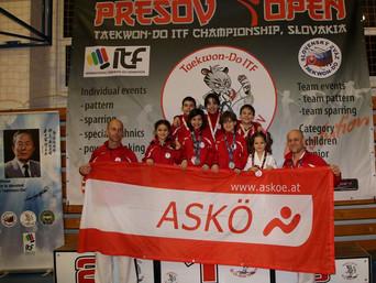 "Erneut Erfolge beim Turnier ""PRESOV OPEN"" 2018 (Slowakei)"