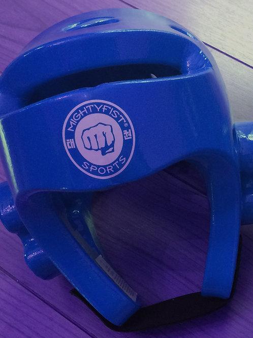 Kopfschutz Blau L