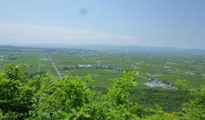 東川町内のキトウシ山 ( 標高457m ) を妻と登って来ました。