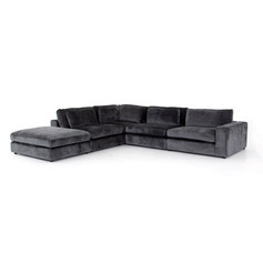 Bloor 4pc RAF Sectional w/ Ottoman