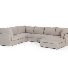 Paul 6pc Sectional w/ Ottoman