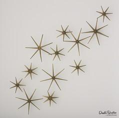 S/12 Star Wall Art