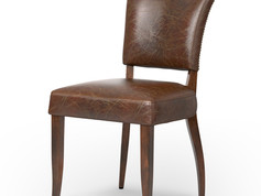 Mimi Dining Chair-Biker Tan