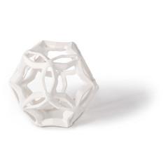 Geometric Star Small-white