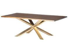 Couture Dining Table-Gold