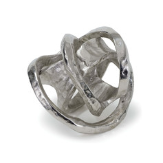 Metal Knot-silver