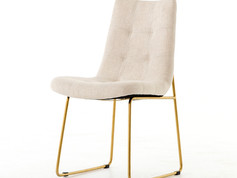 Camile Dining Chair-Savile Flax