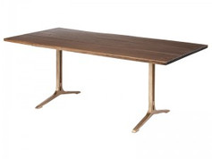 Samara Dining Table-Gold