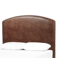 """Surry Curved Headboard 50""""-Vintage Tobacco"""