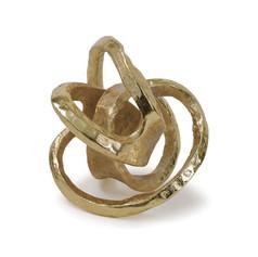 Metal Knot-gold