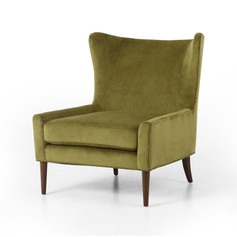 Marlow Wing Chair-Bella Apple