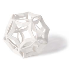 Geometric Star Large-white