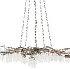 Forest Chandelier-Silver