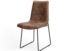Camile Dining Chair-Vintage Tobacco