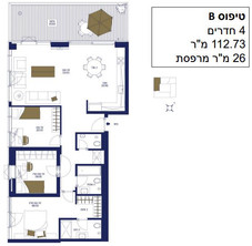 4 Room 112 m2 with 26 m2 Terrace.JPG