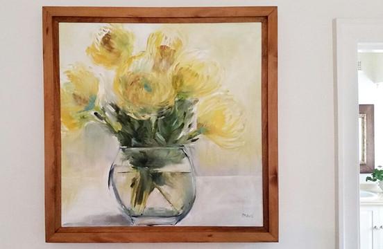 Pin Cushion Proteas