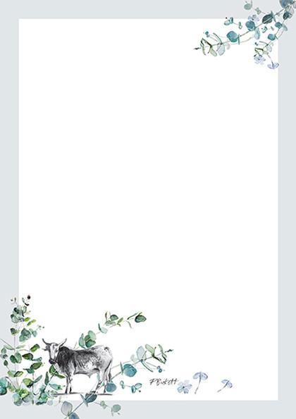 Bluegum Notepad Paper