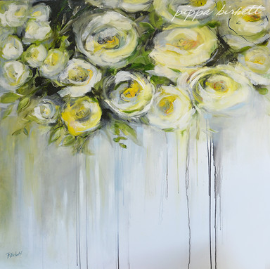 White - Yellow Roses