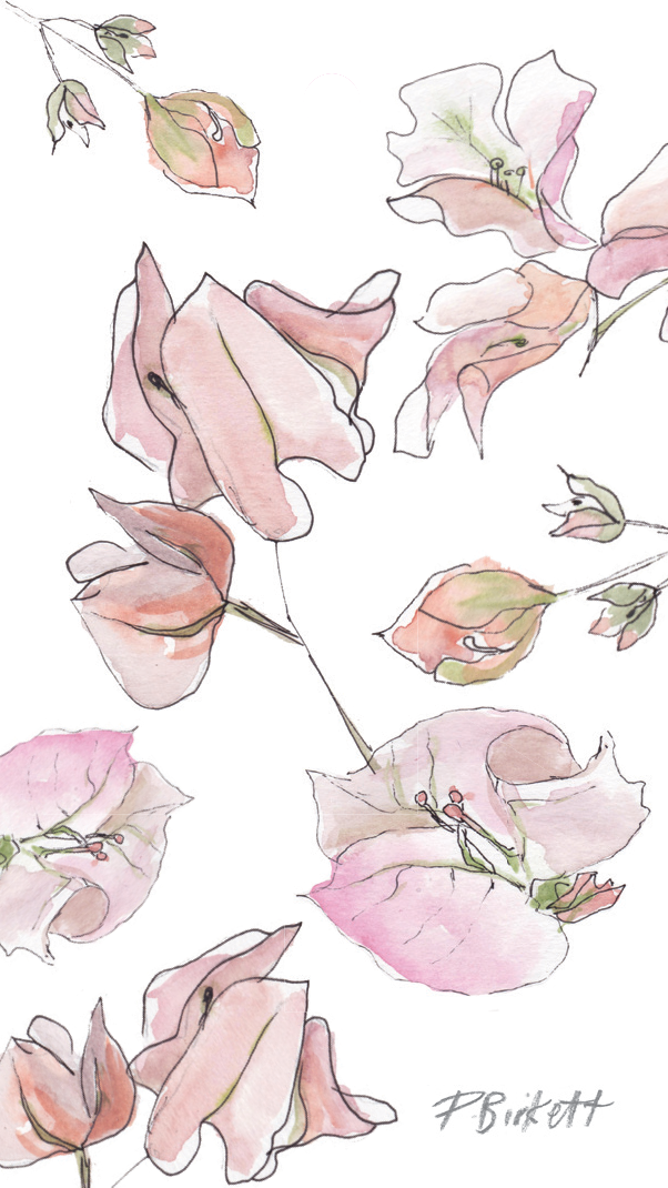 Tags - floral