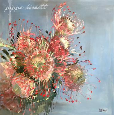 Pincushion Protea arrangement